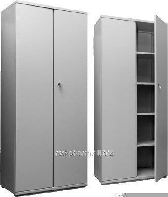 Шкаф двустворчатый металлический артикул ШМ-003