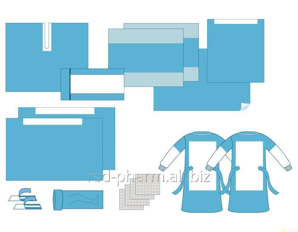 Комплект для операции на бедре Dolce-Pharm, одноразовый стерильный