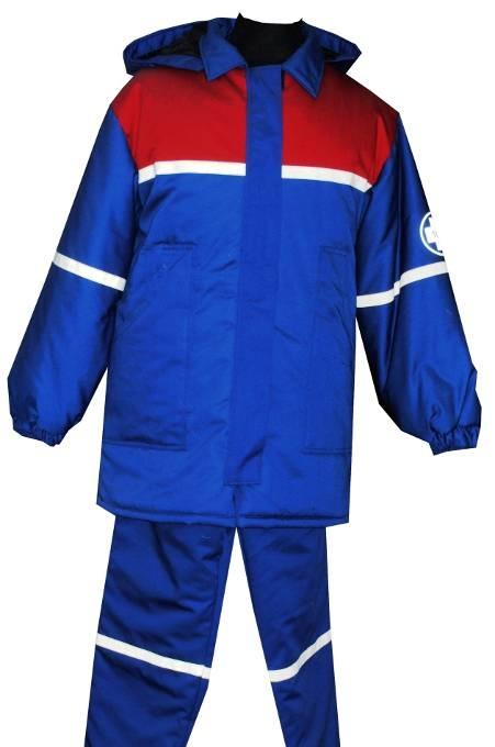 Костюм (унисекс) куртка зимняя, какетка, капюшон, отложной воротник, манжет рукава на резинки, брюки зимние на стегонном подкладе, на замке изделие отделанно отрожающей лентой( двойной синтипон подклад стегонный)