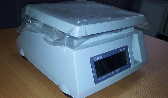 Весы CAS sw до 10кг 30800 тг