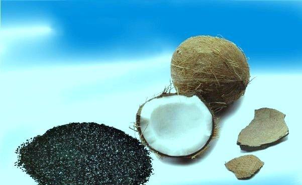 Уголь кокоса