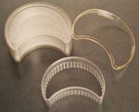 Купить Набор выемок пластиковых Полумесяц рефлёный, арт. ТРС2066