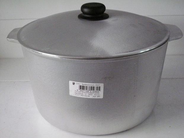 Buy Cauldron aluminum 10 liters, art. 11-3m2k