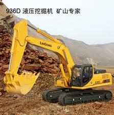 Землеройная техника, Экскаваторы Liugong, Техника землеройная