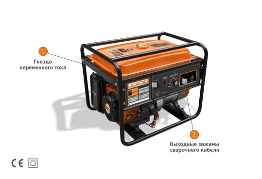 Купить Сварочный генератор