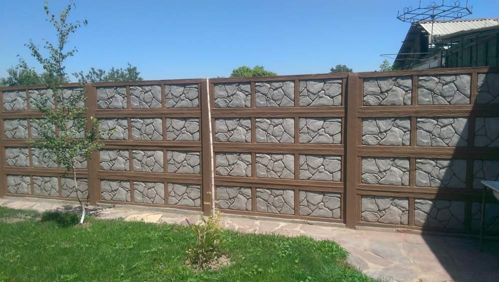 Забор ограждения железобетонные изготовление гараж жби
