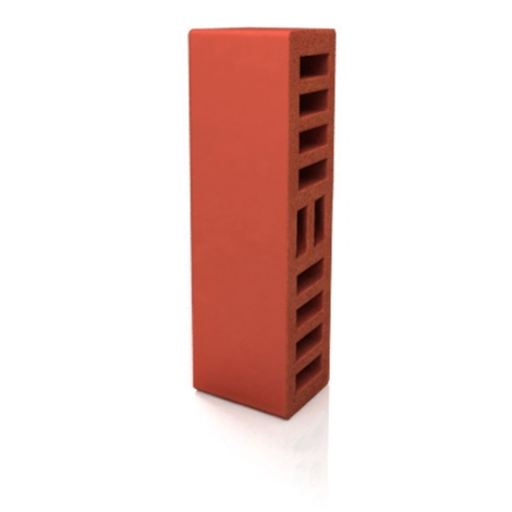 Buy The brick is ceramic red, a half one-and-a-half, front LIKS M-250
