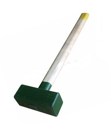 Кувалда 4 кг кованая с деревянной ручкой