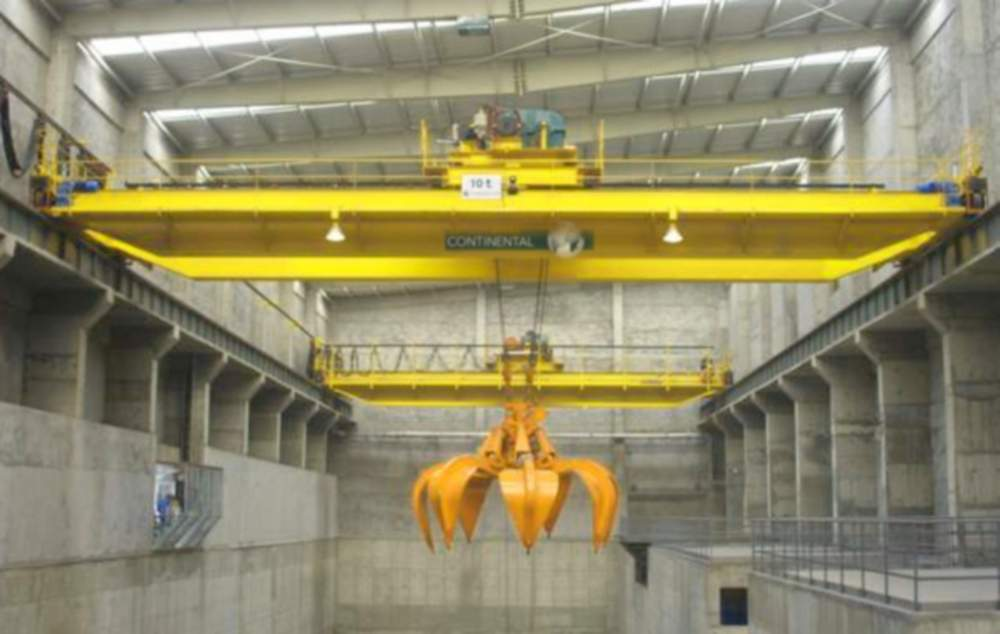 Кран мостовой грейферный 12 т