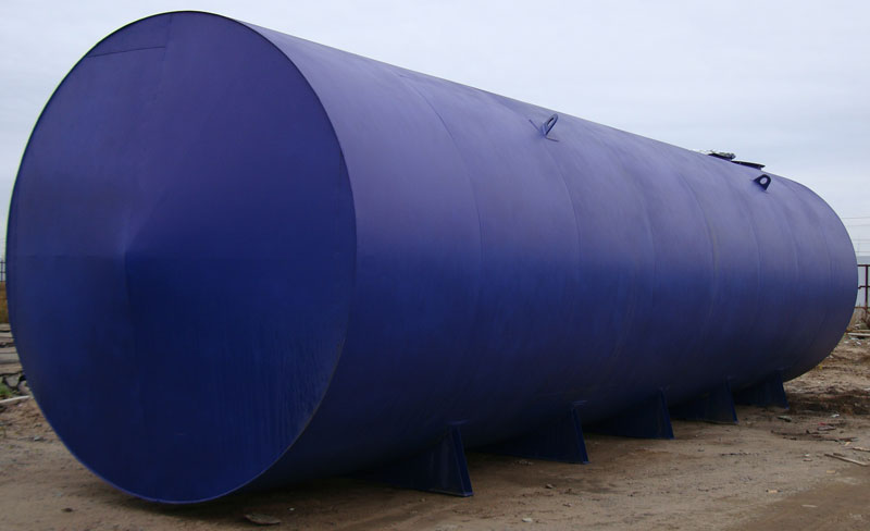 Горизонтальные резервуары для нефтепродуктов