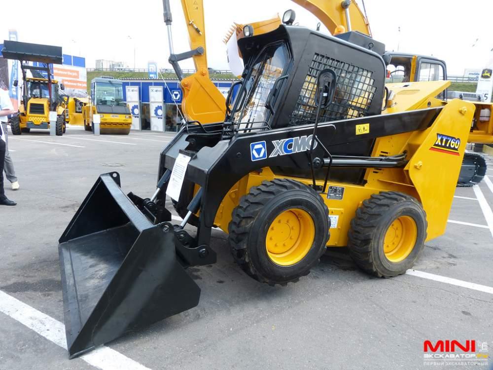 Мини-погрузчиков   XCMG  XT  750