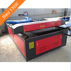Buy The laser machine with ChPU of 130*250 cm Reci 130W large-format Reci a tube, for cutting, an engraving, cutting