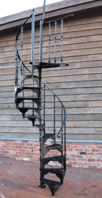 Buy Metal spiral staircases