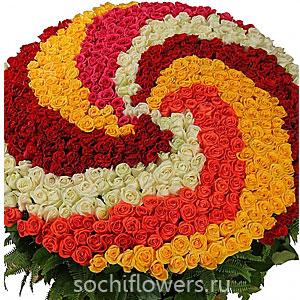 Большие красивые букеты цветов
