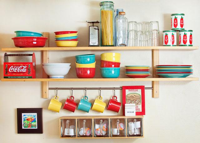 Сделать полочки на кухню своими руками