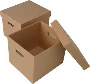 Чаще всего это картонные коробки, скотч и, конечно же...