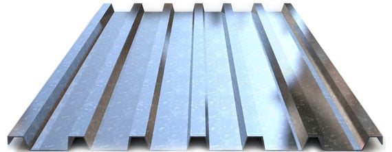 Buy Prof. The sheet S-44 galvanized painted 0.7mm