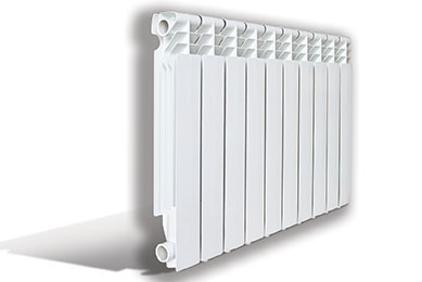 Aluminum radiator of 500/80