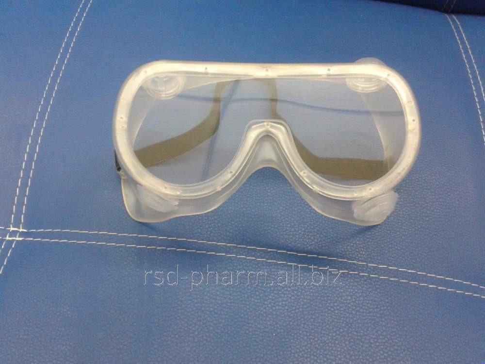 Очки с непрямой вентялицией