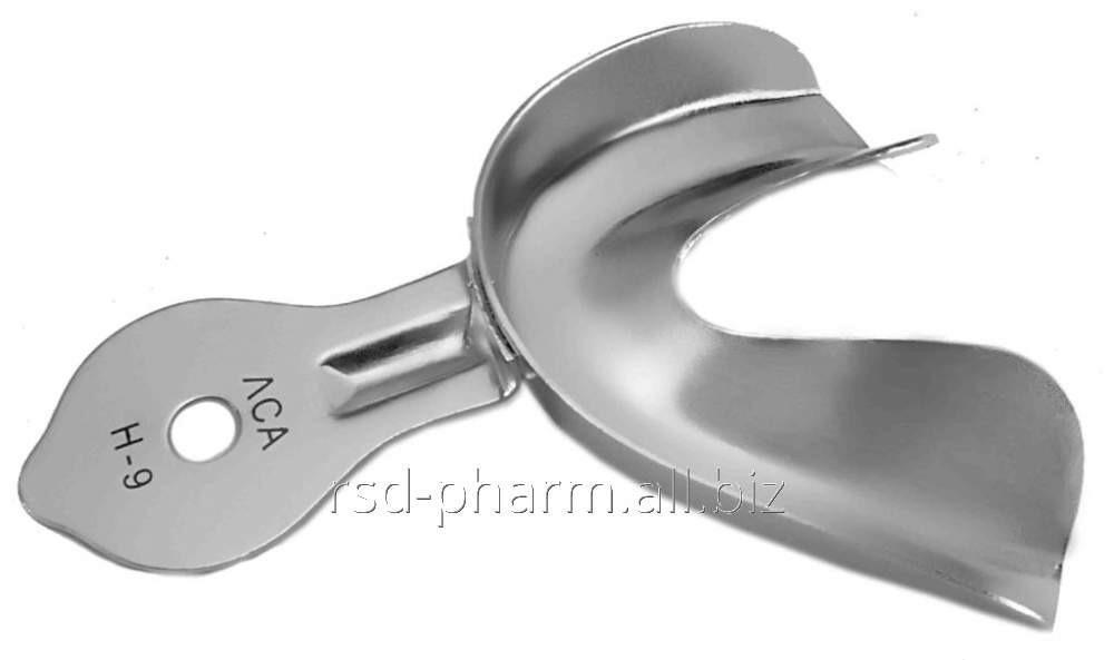 Ложка оттискная стоматологическая для нижней челюсти № 9, ЛОСН-9П