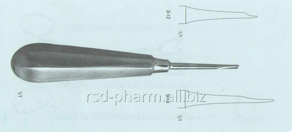 Элеватор зубной прямой № 1, Э-12 П