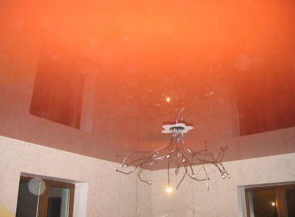 Купить Потолок лаковый натяжной