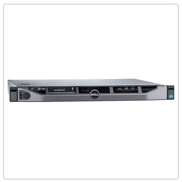 Купить Серверы Dell PowerEdge R220 1 U/1 x Intel Xeon E3 1220v3