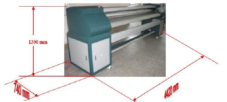 Large-format printer, SECOND-HAND INFINITY-3206