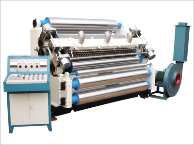Gofropress for production of two-layer corrugated fibreboard, SF-C-268 Single Facer, the equipment for production of a cardboard of a corrugated cardboard