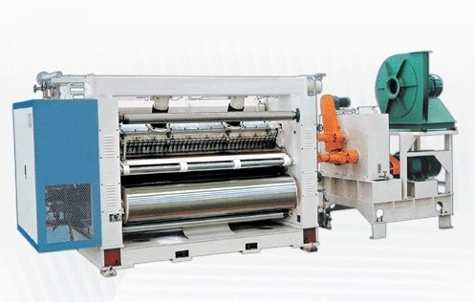 Gofropress for production of two-layer corrugated fibreboard, SF-I-360 Single Facer, the equipment for production of a corrugated cardboard