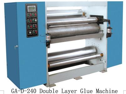 Купить Устройство для нанесения клеящего слоя, Double Layer Glue Machine GA-D-240, элемент линии по производству гофрокартона