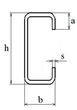 Купить Стальной гнутый тонкостенный С-образный профиль для ЛСТК