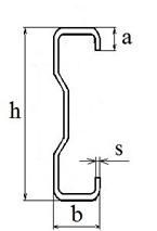 Купить Стальной гнутый тонкостенный Сигма-образный профиль для ЛСТК