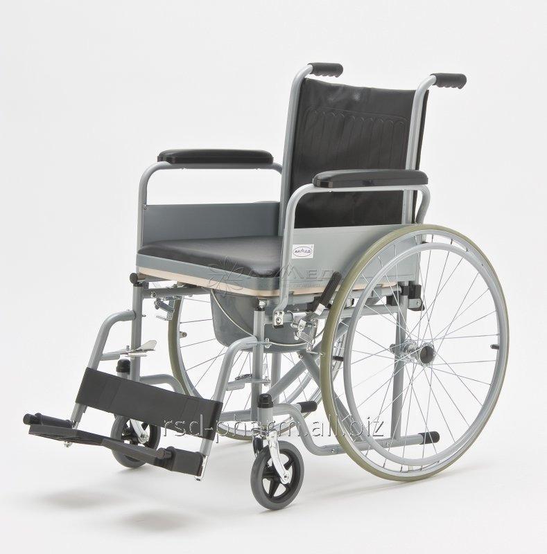 """Кресла-коляски с санитарным оснащением для инвалидов """"Armed"""" FS682"""