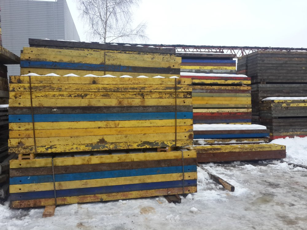 Largely panel board wall formwork 3,3m in Almaty online-store ASK
