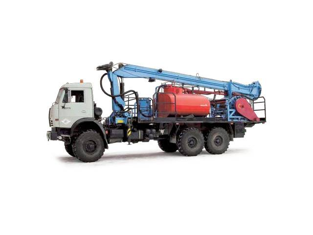 Купить Агрегат для добычи нефти АСС (шасси КАМАЗ-43118 6х6)