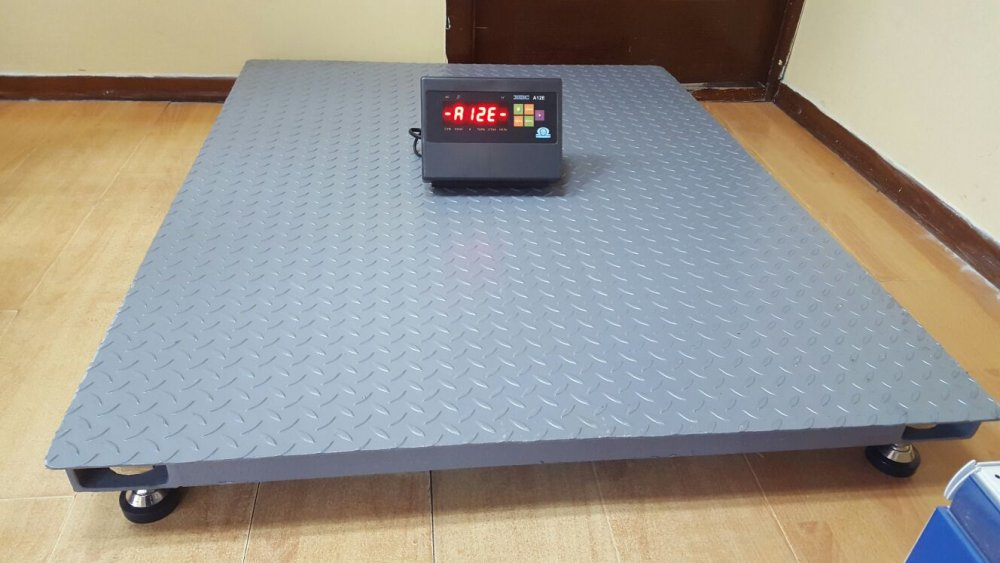 Scales platform EVP from 500 kg to 2 tons, type 1000x750x90