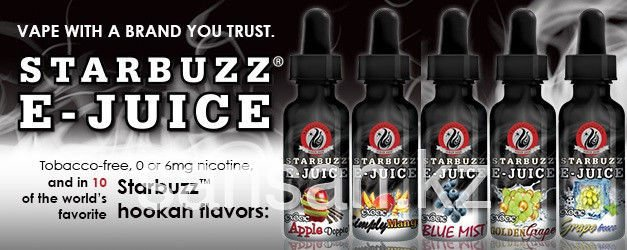 Starbuzz E-Juice liquid for electronic hookahs and cigarettes, 10 ml