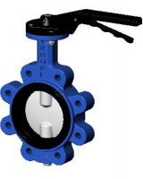 Межфланцевый дисковый поворотный затвор с резьбовыми проушинами VP364816-02
