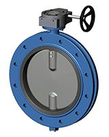 Фланцевый дисковый поворотный затвор Ру10 VP4508-08