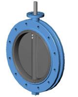 Межфланцевый дисковый поворотный затвор Ру16 VP4448-00