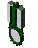 Шиберная ножевая задвижка VG3400-004