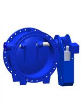 Поворотный обратный клапан с противовесом и гидравлическим приводом Ру10 CP4201