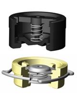 Осевой обратный клапан пружинный CA7442