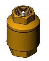 Осевой обратный клапан CA1101