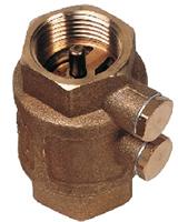 Осевой обратный клапан со штуцерами CA1102