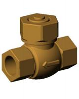 Подъемный обратный клапан CS2142