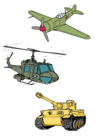 фото рисунки военная техника