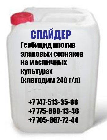 Гербицид против злаковых сорняков Спайдер (клетодим 240 г/л)