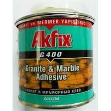 Buy Glue for stone of marble of Akfix G400 granite